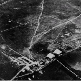 Airport in the 20s of previous century
