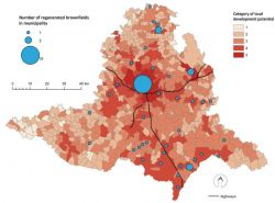 Frantal et al 2013: Categorization of municipalities in South Moravian Region, CZ, according to development potential and spatial distribution of regenerated brownfields