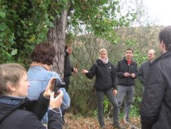 Presentation of Tree Coring at TIMBRE Hunedoara site in October 2011.