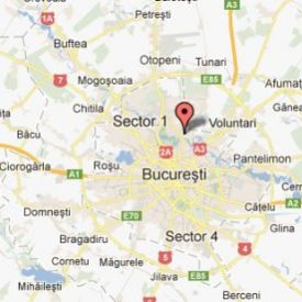 Location in Romania, Bucharest