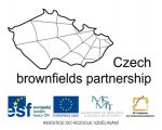 Czech Brownfields Partnership and Funding institutions' logos - For more info visit: http://fast10.vsb.cz/brownfield/en/