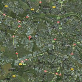 Wroclaw Industrial Park map 2