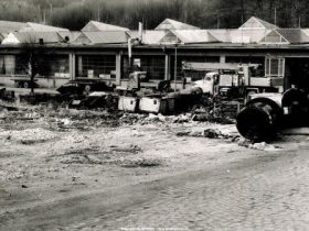historical picture of site