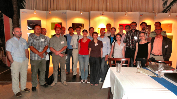 Participants of timbre's first meeting in 2010.